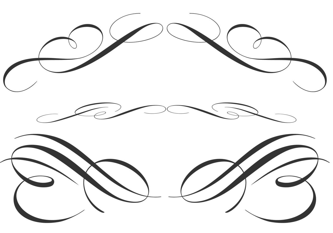 Free Calligraphic Ornament Brushes
