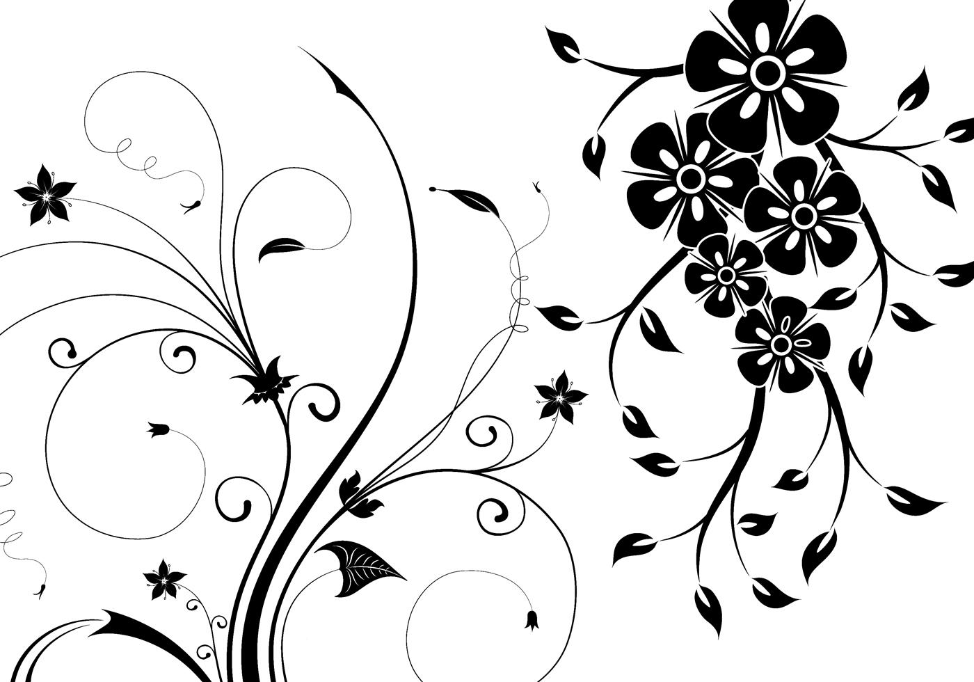 Free Floral Swirls Brushes
