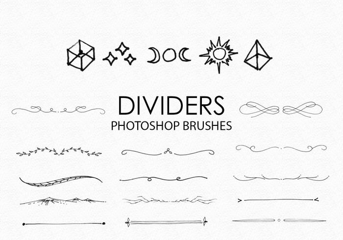 Floral Decorative Line Dividers