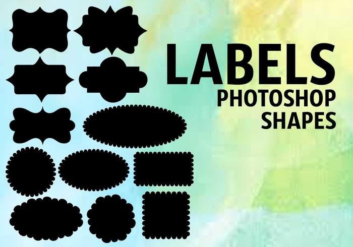 Label Shapes Free Photoshop Brushes At Brusheezy