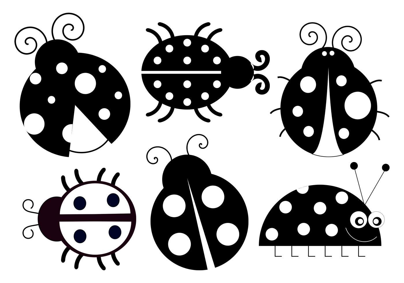 Cute Ladybug Brushes Collection