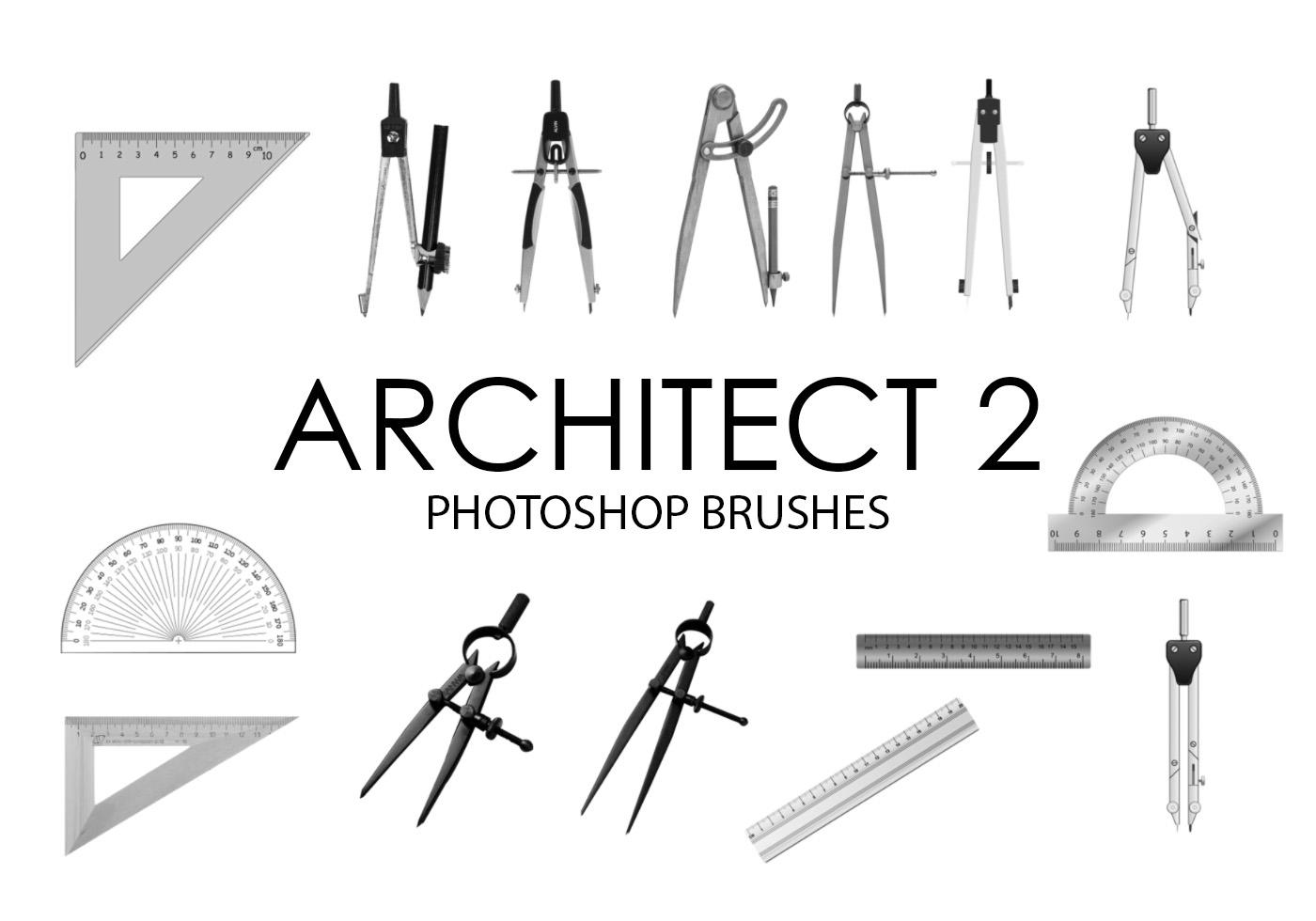 Architect Photoshop Brushes 2