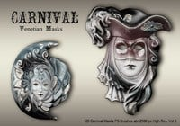 20 Carnival Masks PS Brushes abr.vol.3