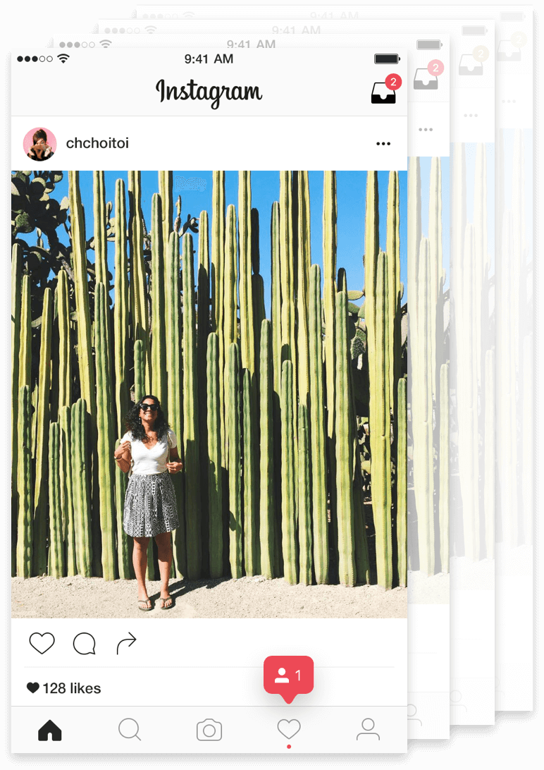 Buffer for Instagram screen
