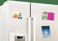 Calendar Magnets   Custom Fridge Magnets - FREE SHIPPING!