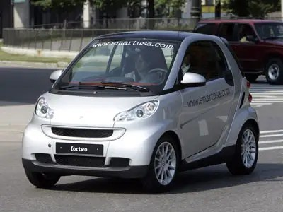 5. The Smart Fortwo