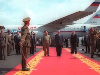 kim jong il north korea vladimir putin russia