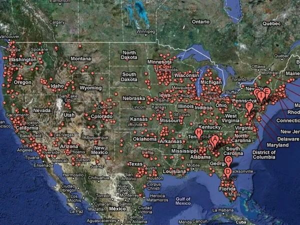 BONUS: USA -- 1 in 46 homes in foreclosure