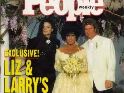 #7 Elizabeth Taylor and Larry Fortensky
