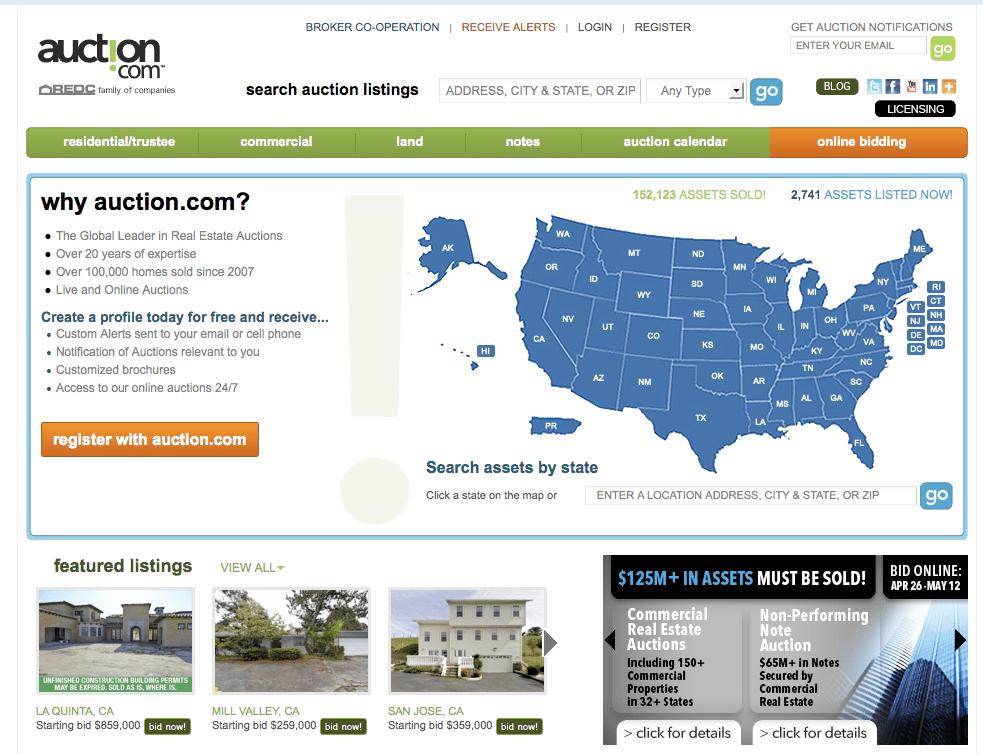 15. Auction.com - $1,700,000