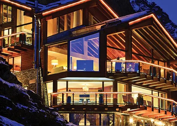 Known as Chalet Zermatt Peak, in the Swiss Alps, this crazy home is on sale for $22 million.
