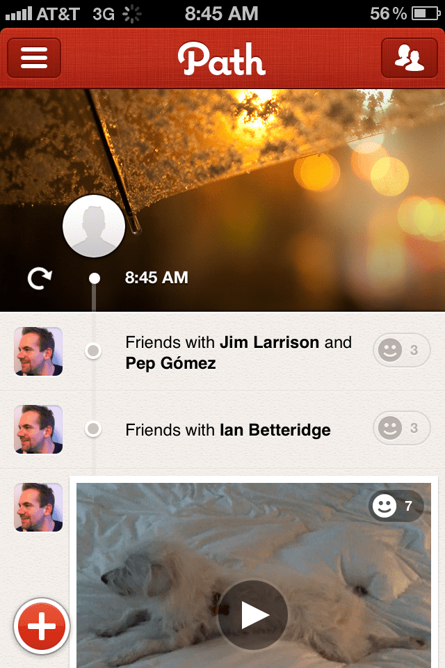 For starters, the app looks flat out gorgeous.
