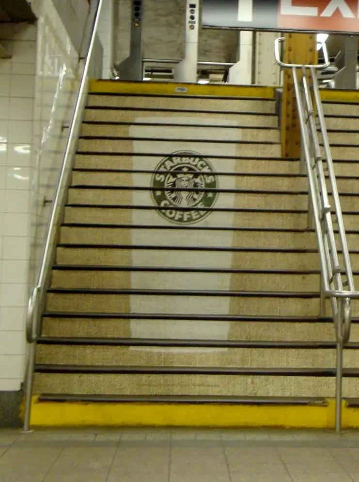 Starbucks in Grand Central Terminal In New York.