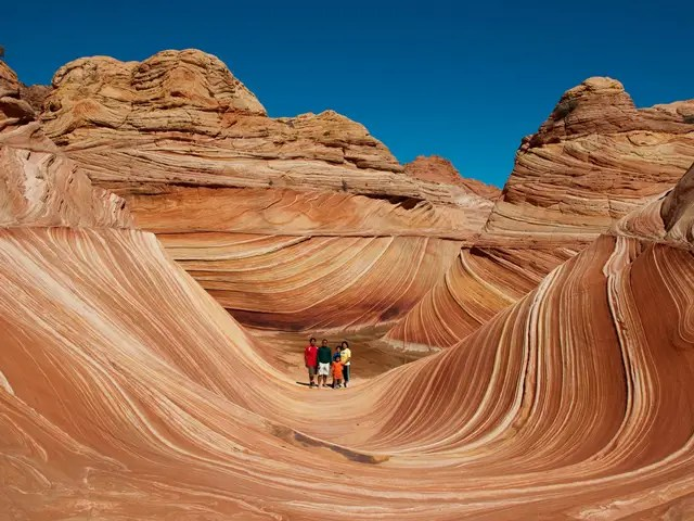 Hiking The Wave Coyote Buttes Arizona  Business Insider