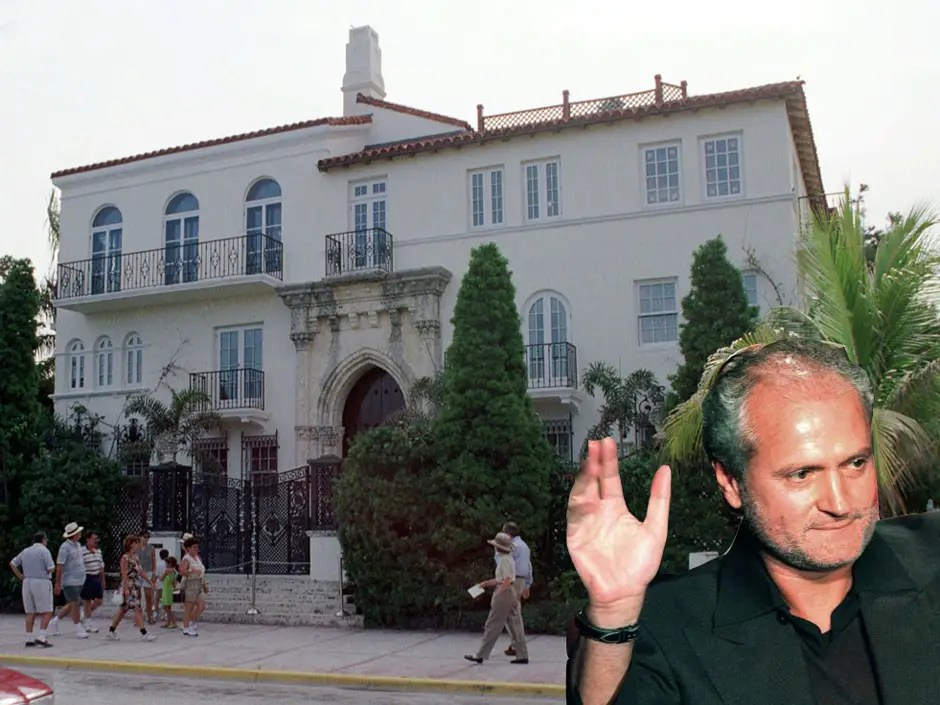 HOUSE OF THE DAY The Miami Mansion Where Gianni Versace Was Killed Just Hit The Market For A