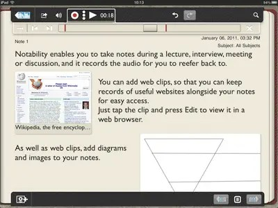 Notability: Voice recording and handwriting integration for your notes