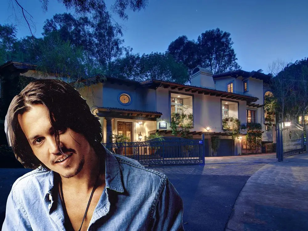 HOUSE OF THE DAY Johnny Depp Just Bought A 44 Million
