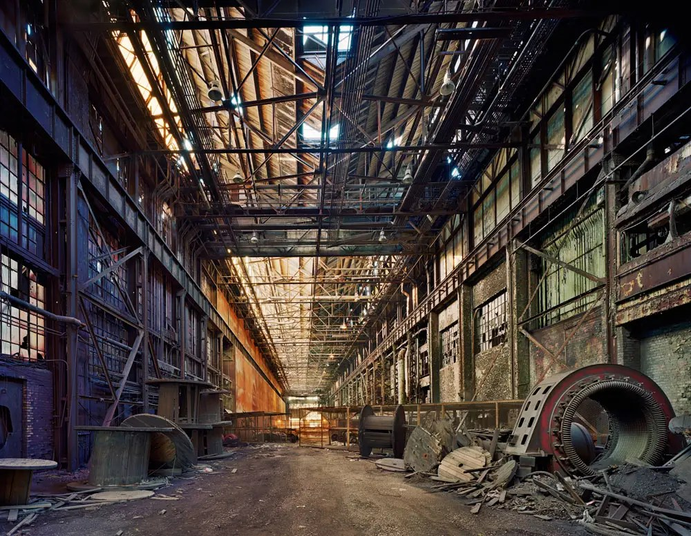 Rolling hall, Ford Motor Company, River Rouge Complex, Dearborn, 2008