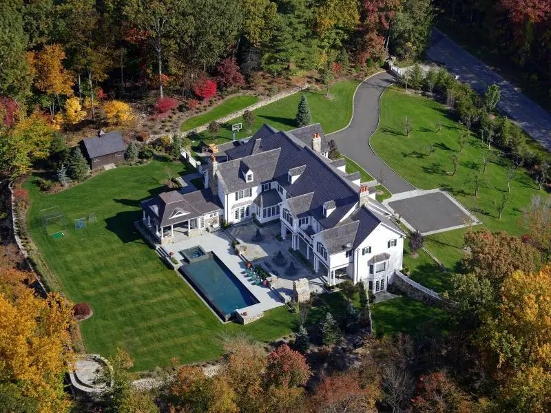 This $10.5 million home in New Canaan, Conn. earned the Electronic House of the Year award for its innovative application of AMX technology, which incorporates in-wall touch screens that control the lighting, heat, irrigation, sound, and more.