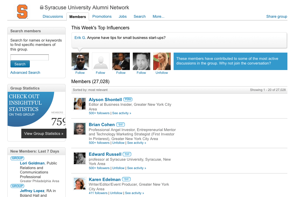 10. You haven't created an exclusive LinkedIn group for your employees