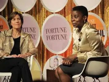 Ursula Burns grew up in a housing project on Manhattan's Lower East Side and now runs Xerox