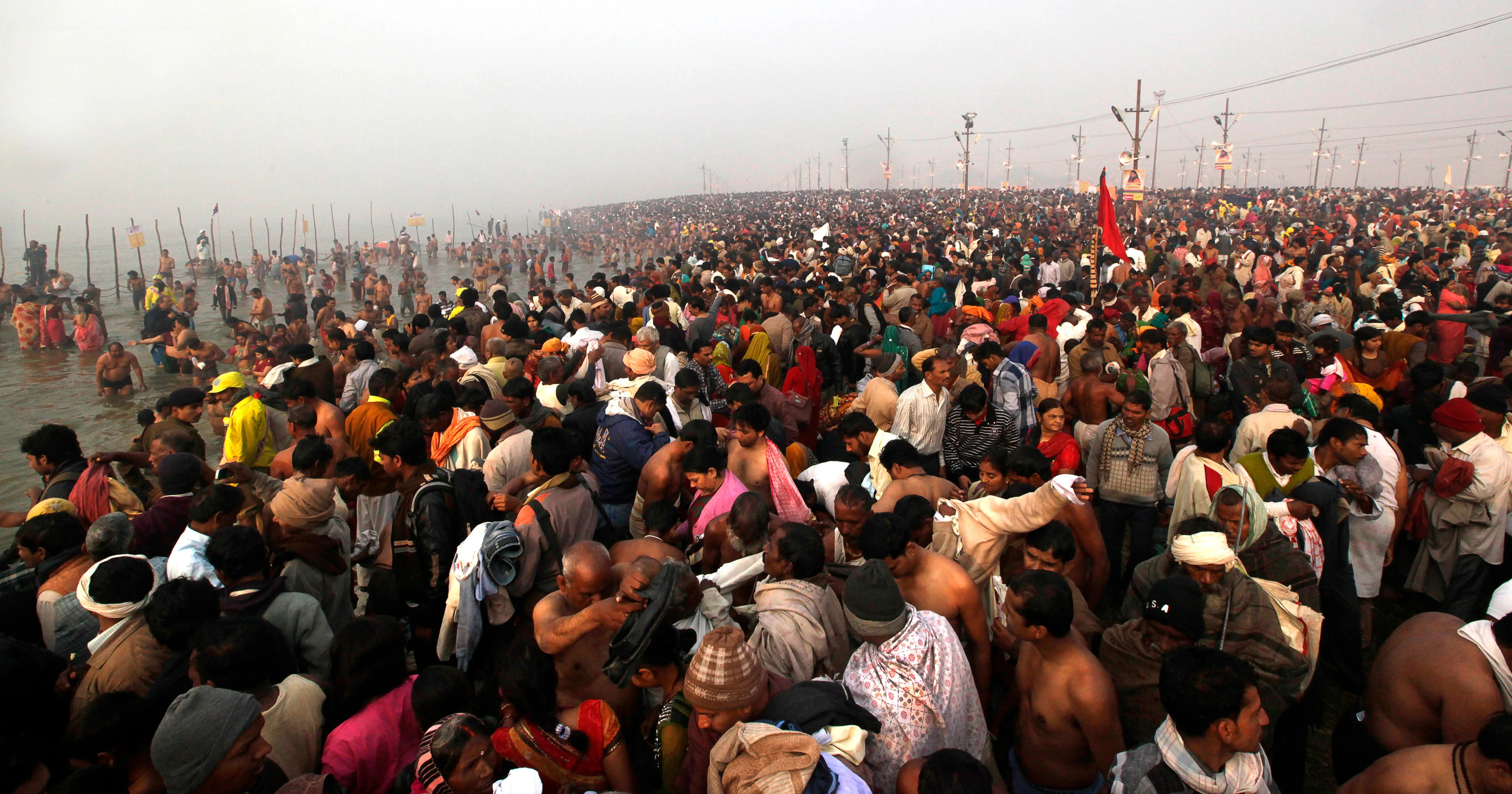 Over 100 million people Hindu devotees are expected to attend the Maha Kumbh Mela.