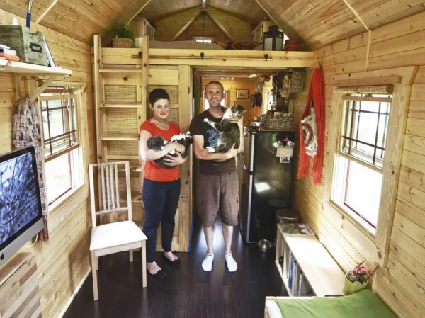 Couple Condensed Lives 140-square-foot