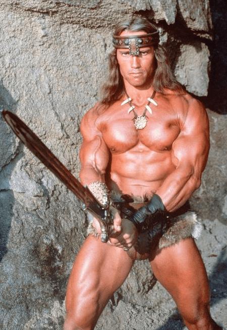 Arnold Schwarzenegger Shirtless