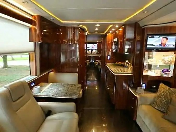 Heres The 2 Million Tricked Out Bus That The Dallas