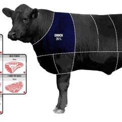 Cow Meat Diagram 7 Pin Trailer Connector Wiring Diagrams How To Pick The Perfect Cut Of Beef Business Insider