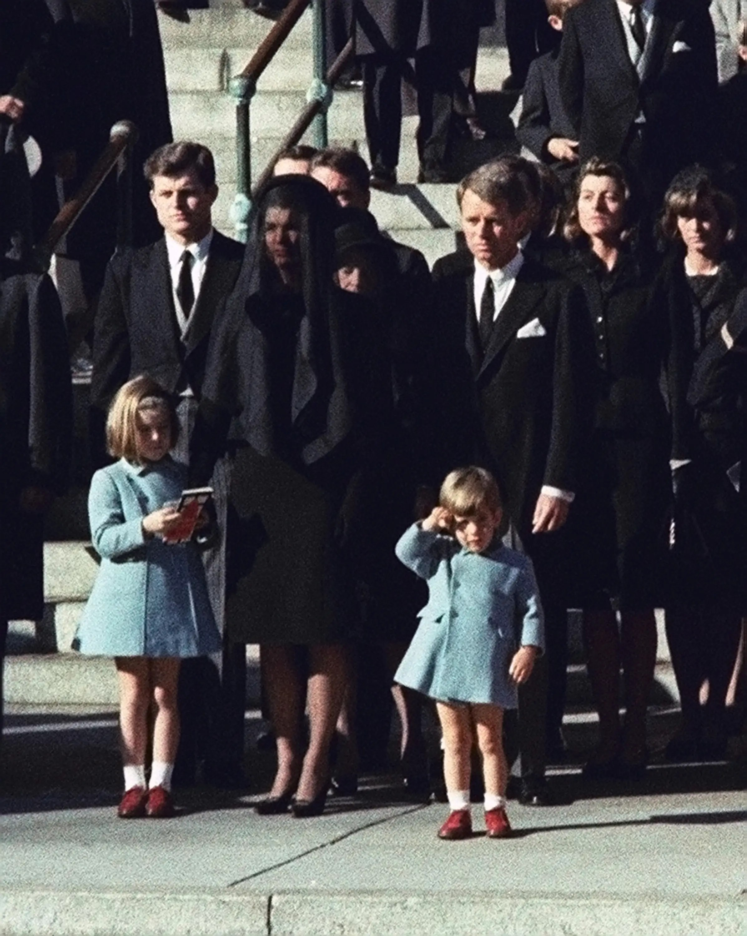 JFK Jr. Salute Father's Funeral