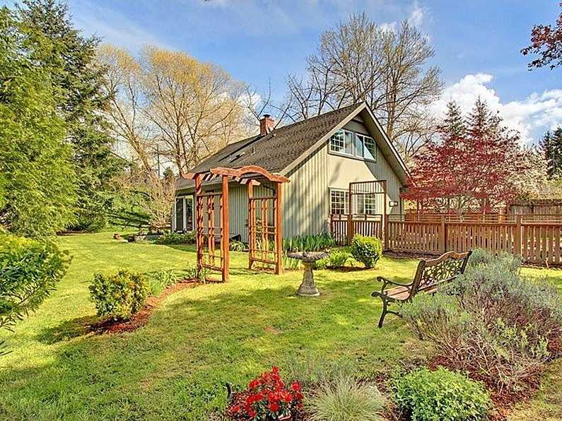 SEATTLE, WA: $475,000 gets you a 1,750-square-foot home with four bedrooms, a fenced yard and BBQ patio.