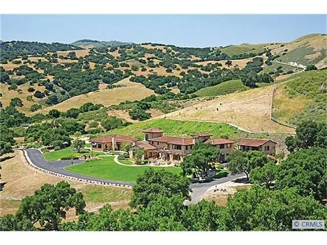 This farm in Los Olivos, California is spread out on 465 acres, over 200 of which have vineyard potential. It is listed for $22.35 million.