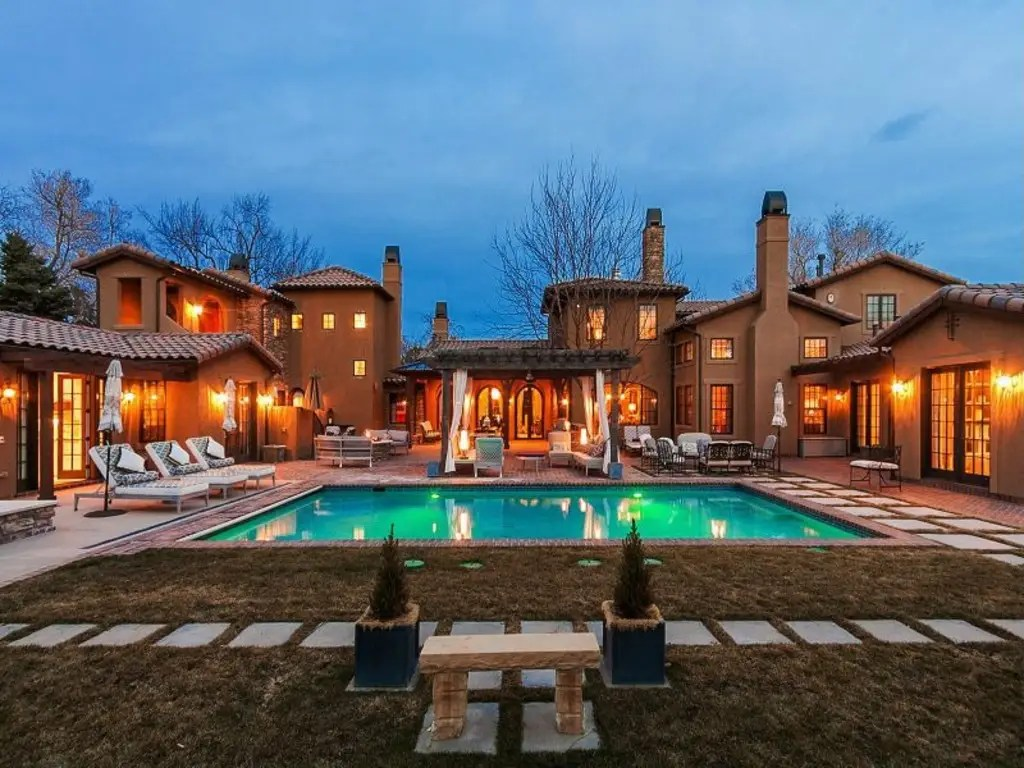 Englewood, CO: $4.75 million buys a 9,000-square-foot home with six bedrooms, a pool, and a hot tub.