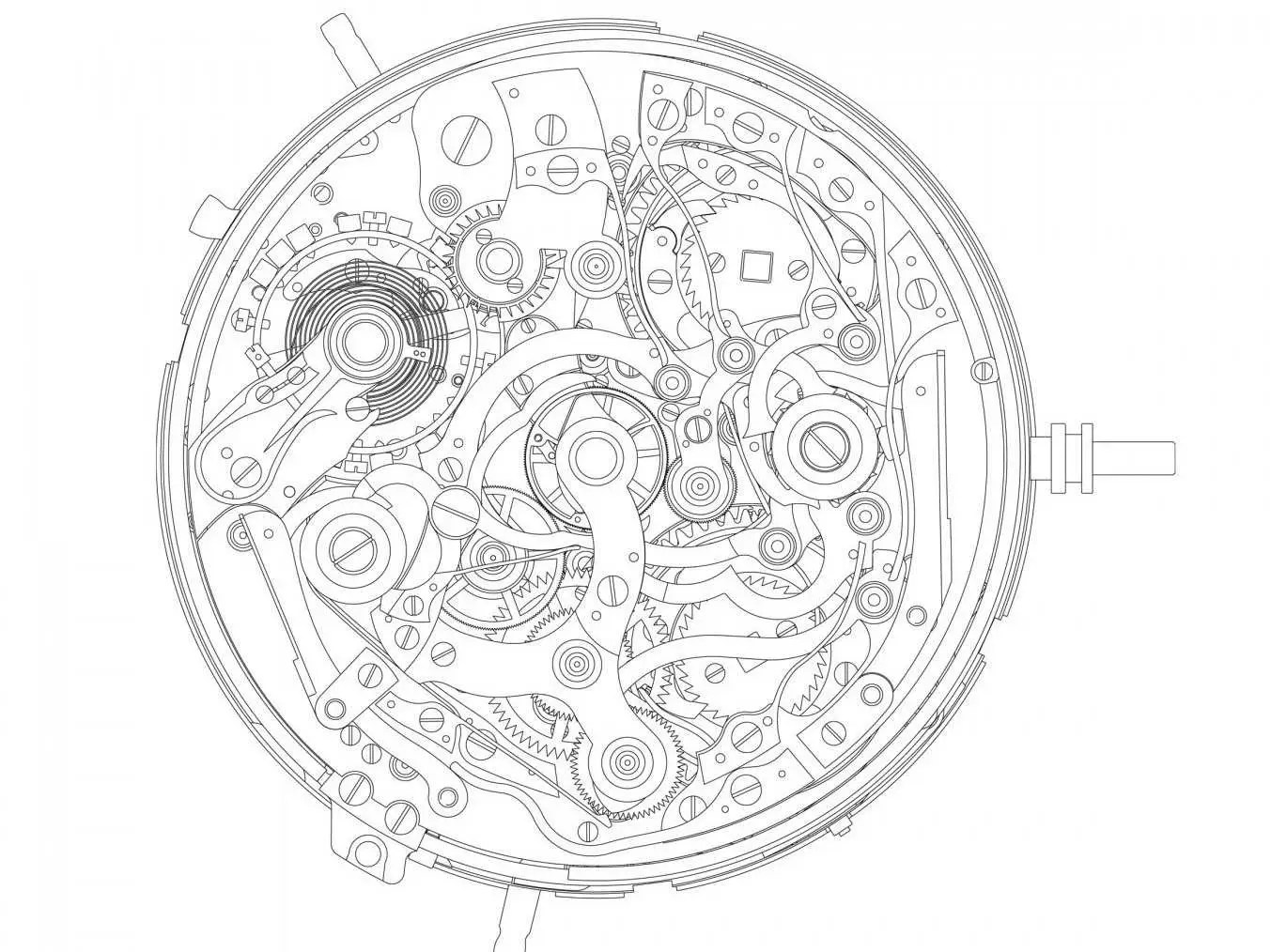 This Wrist Watch Has 876 Parts And Costs 2 5 Million