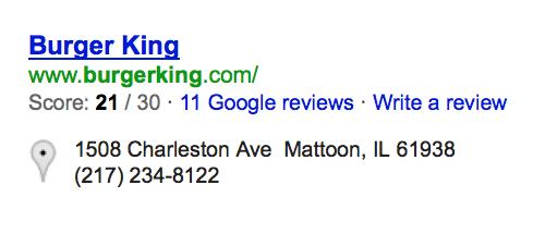 Burger King Mattoon