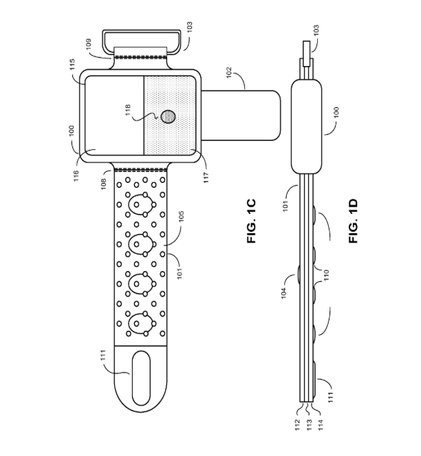 Here Are All The Known Patent Diagrams For Apple's iWatch