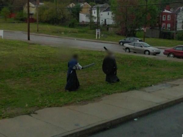 Incredibly Awkward Google Street View Business Insider