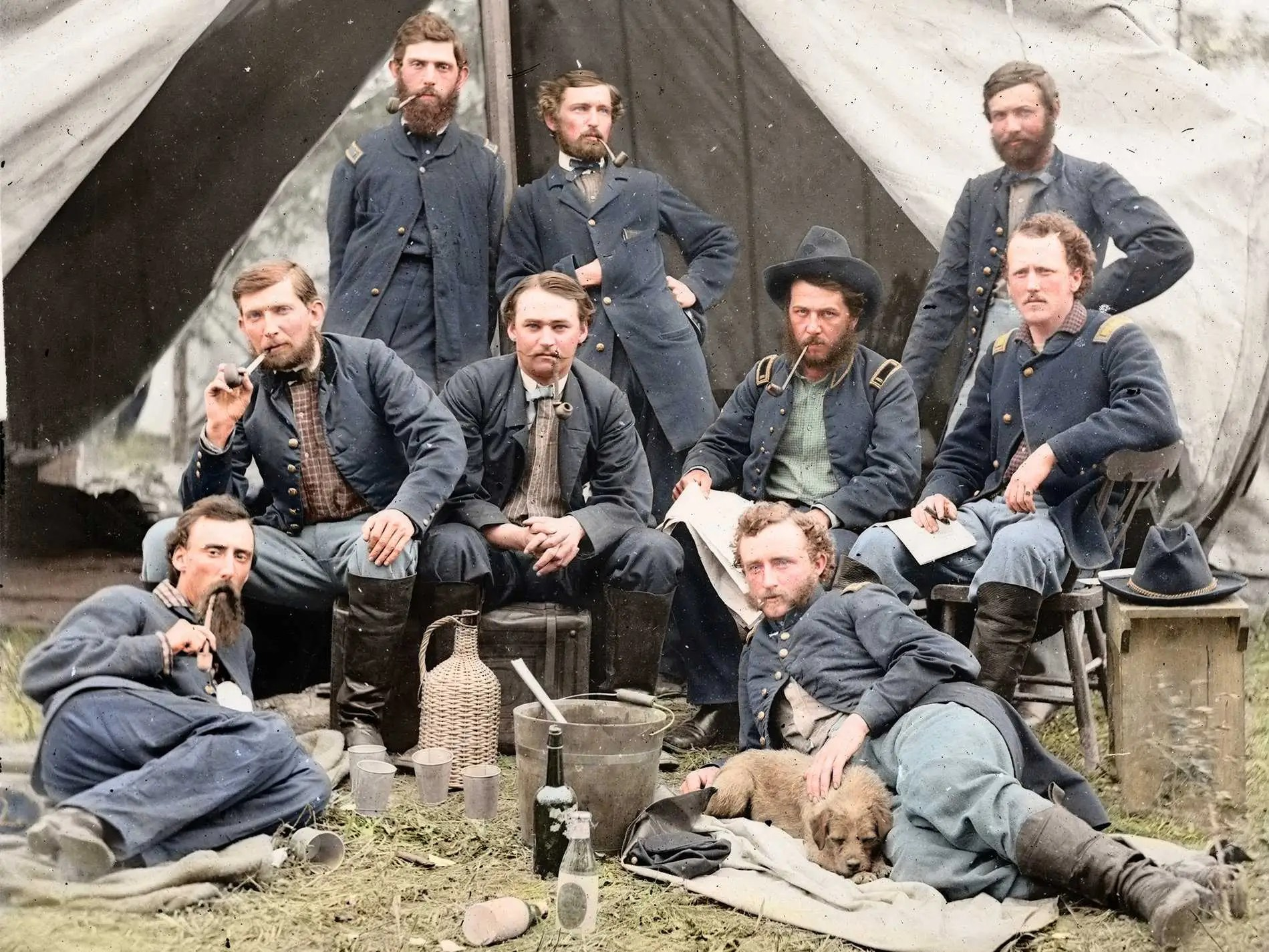 Amazing American Civil War Photos Turned Into Glorious