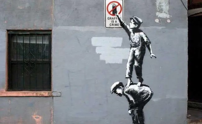Why Banksy Has Nothing To Do With Real Graffiti Culture