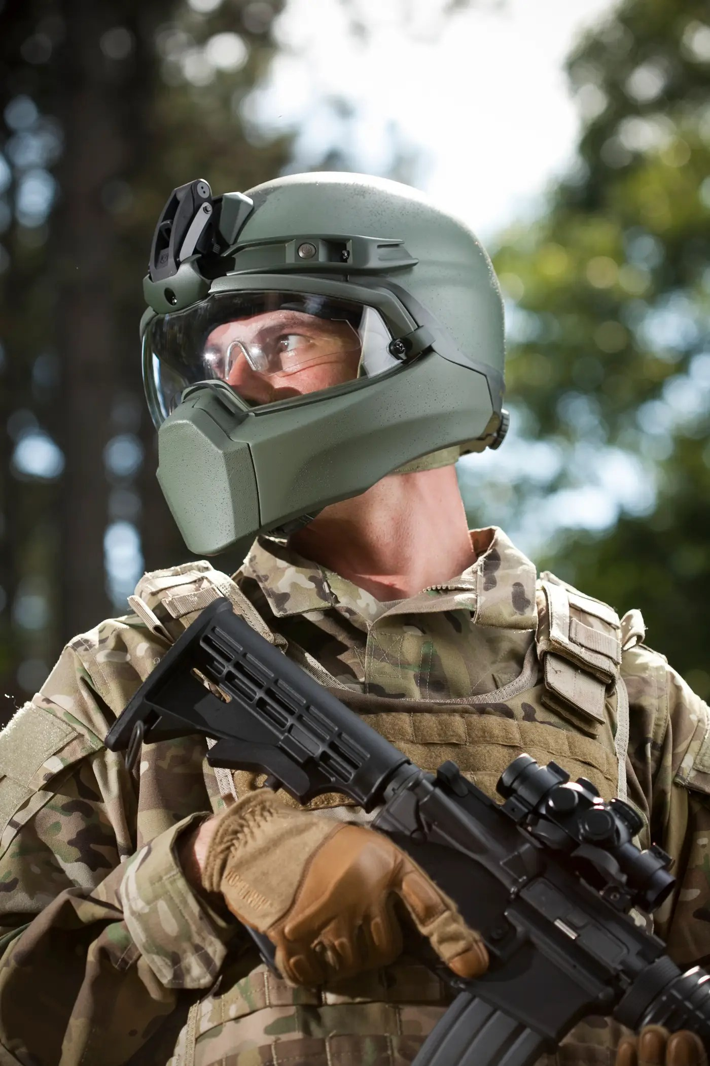 Supplier Denies That The New US Military Helmet Is Based