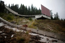 Winter Olympic Venues Abandoned