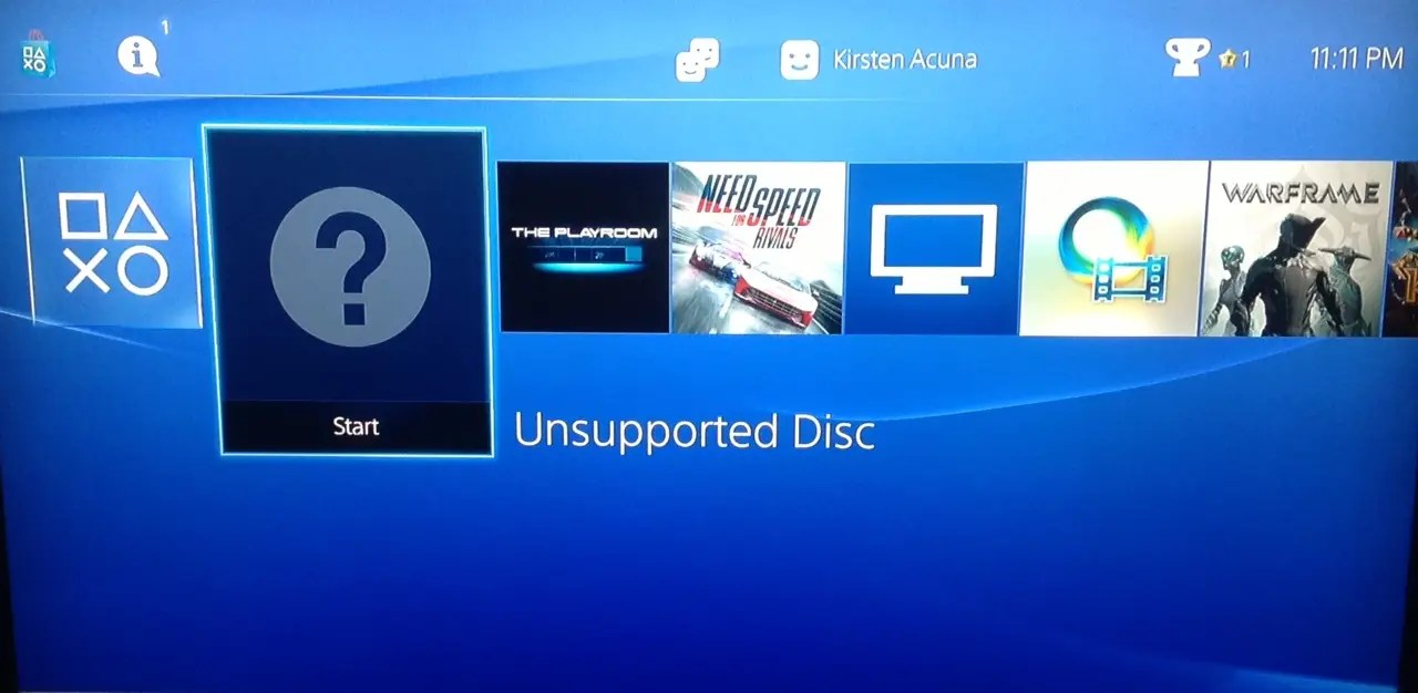This Is What Happens When You Try To Put A PS3 Disc In A PS4   Business Insider