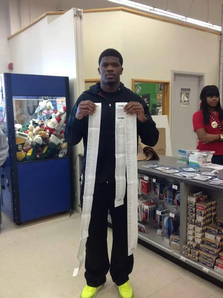 andre johnson toy shopping