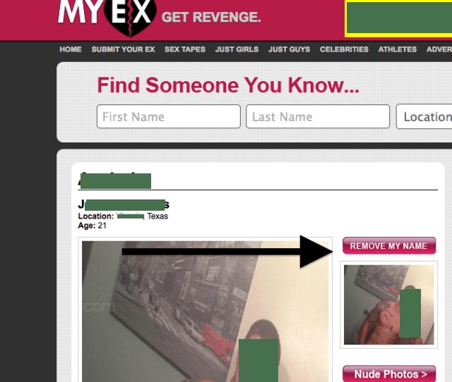 Myex Com Remove