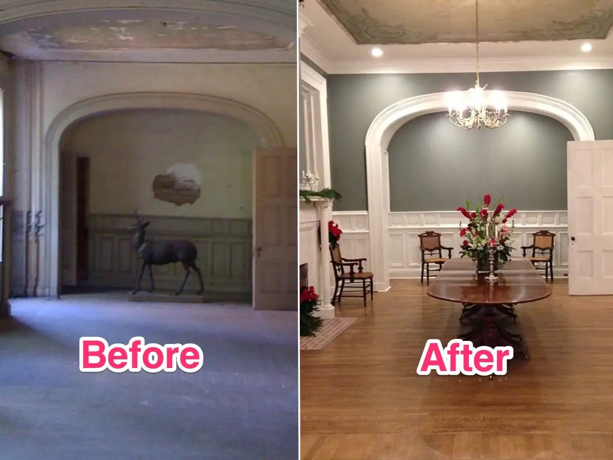 Look Inside The Historical Mansion That Sold For Just US1