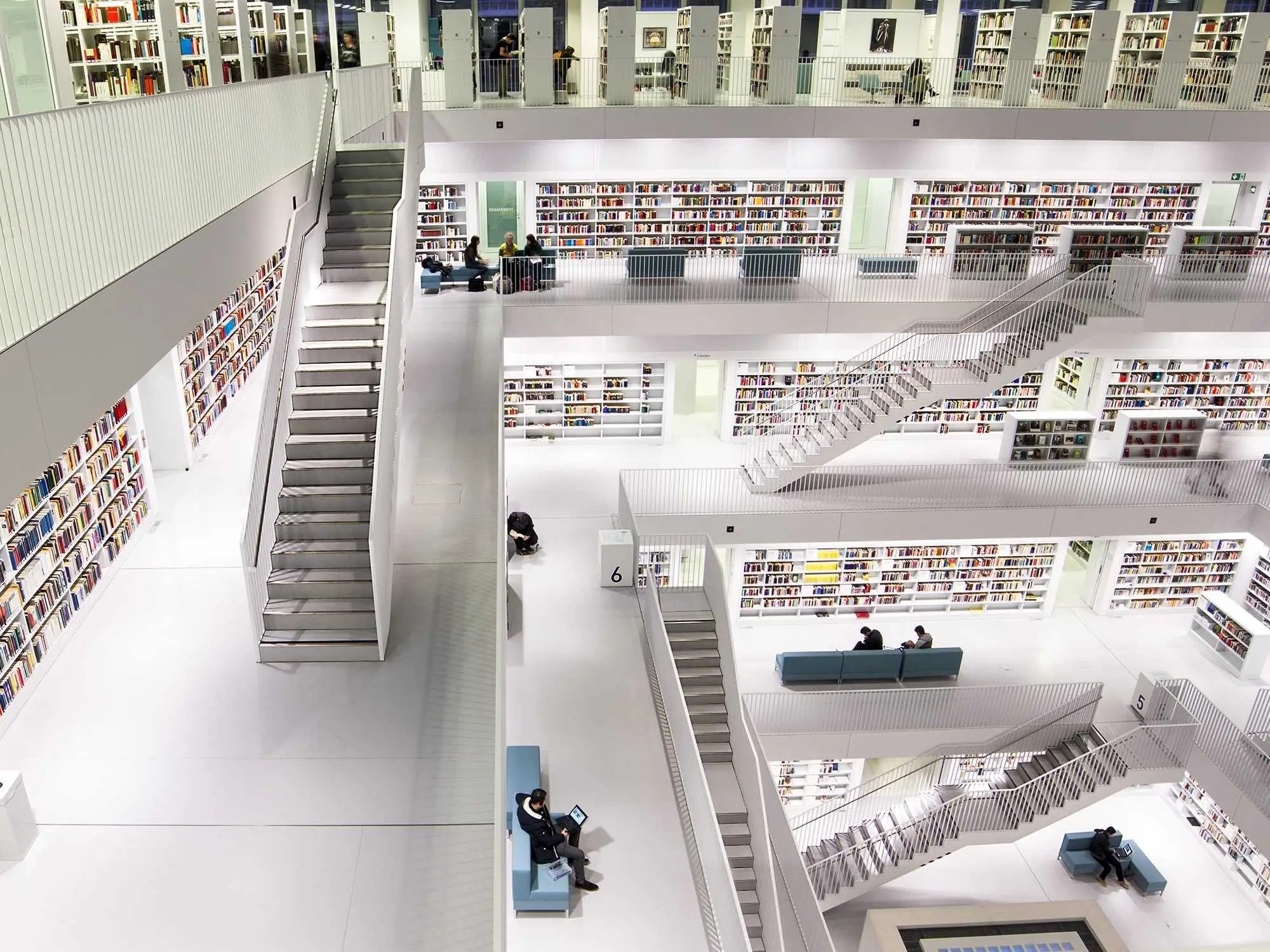 Best Libraries From Around The World - Stuttgart City Library