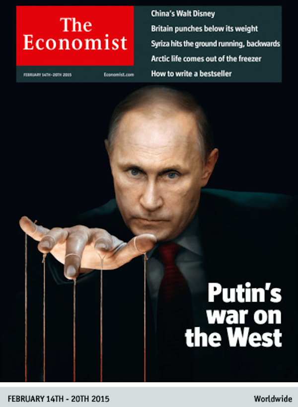 Image result for economist cover putin