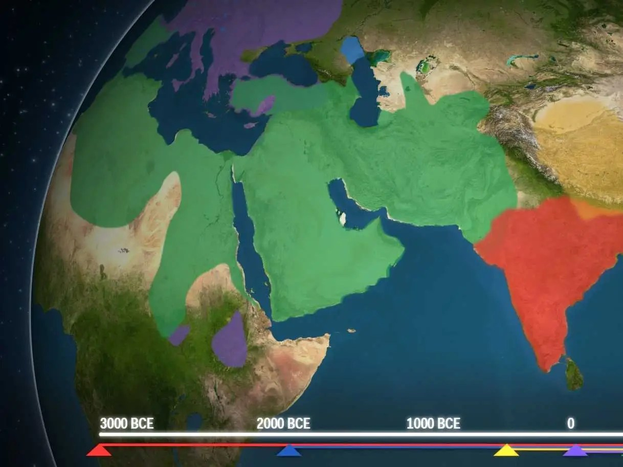 This Animated Map Shows How Religion Spread Across The