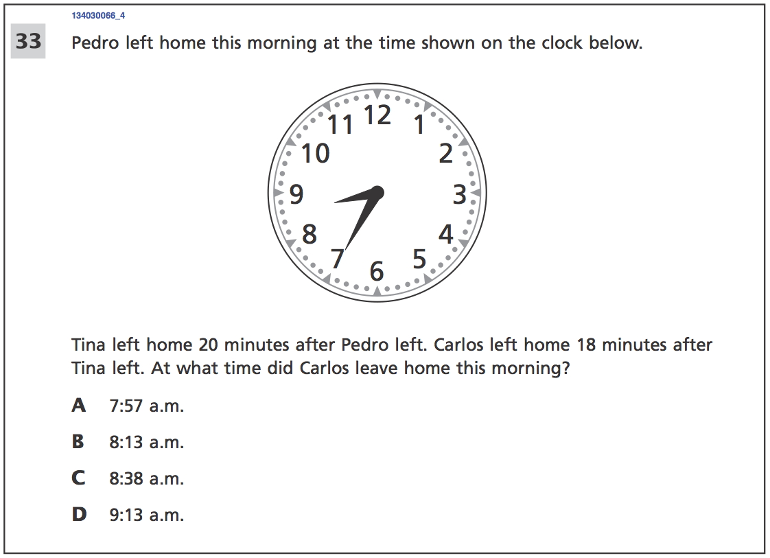 Here Are Some Of The Hardest Questions 3rd Graders Had To Answer On New York S Statewide Maths